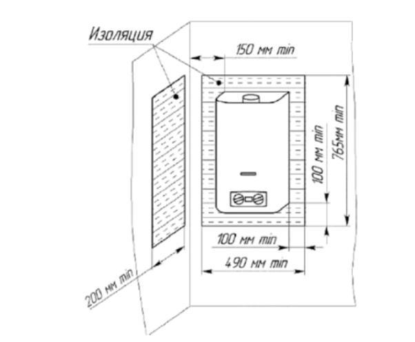 как установить проточный водонагреватель