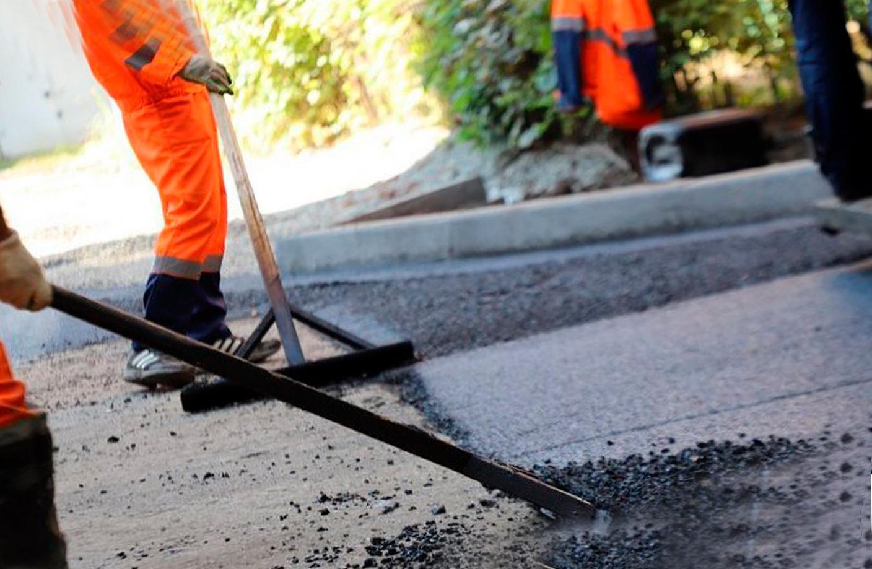 ремонт дорожного покрытия автомобильных дорог
