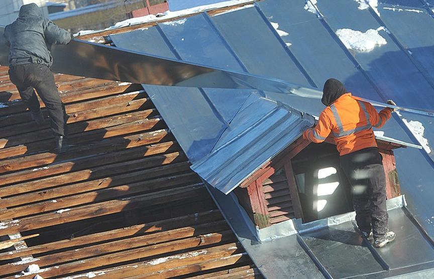 ремонт крыши многоквартирного дома