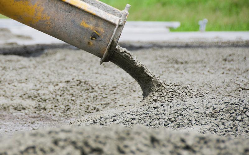 где используют бетон